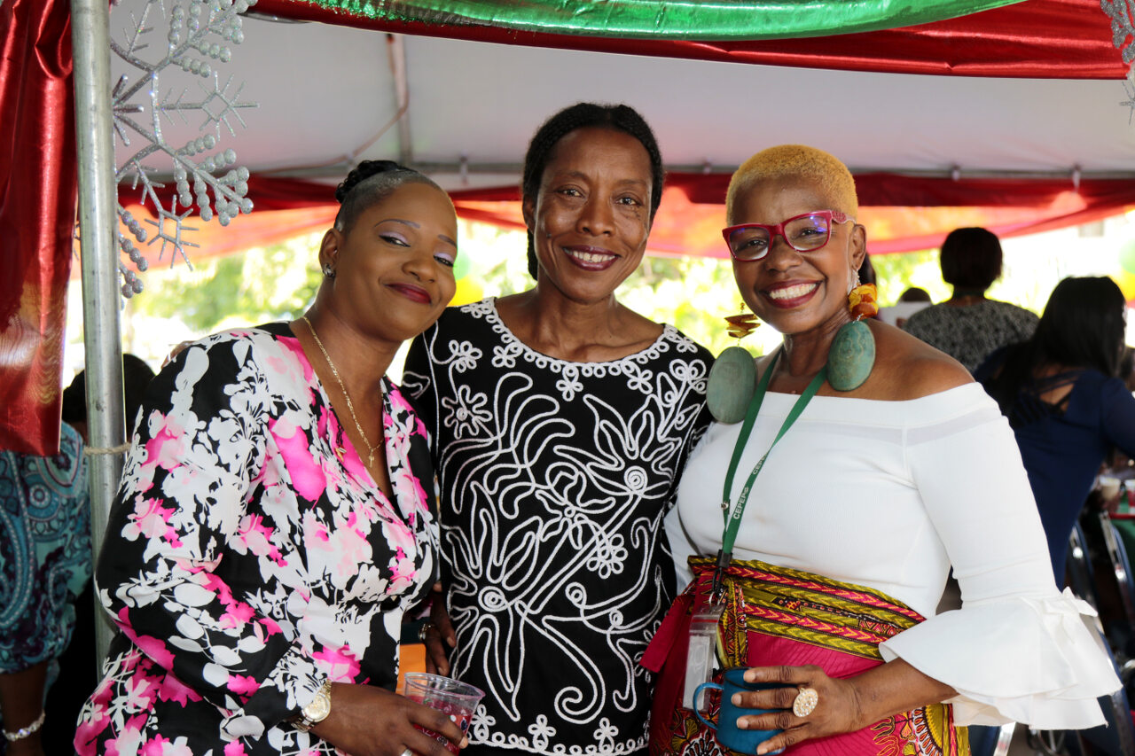 Permanent Secretary, Ms. Destra Bascombe and staff was among the specially invited guest sharing the love with CEPEP Management. Staff Board of Directors