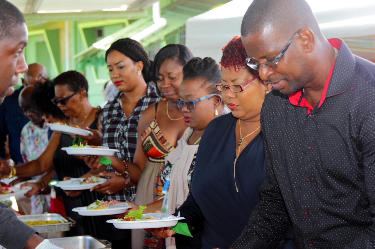 Staff awaiting food service not a laughing matter
