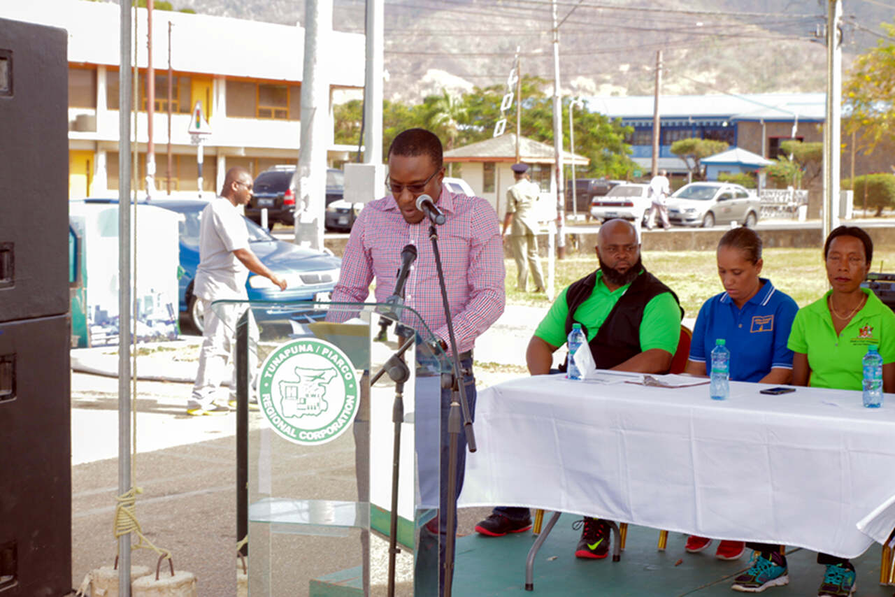 Business Entrepreneurial Development Manager Mr. David Roberts performing another role – Chairman of the proceeding